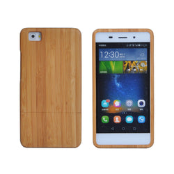 For Huawei P8 Bamboo Wooden Covers Removable Natural Handmade phone Cases Protective Back Cover Accessory shell housing - onlinejewelleryshopaus