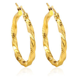 Big Hoop Earrings Gold Plated Fashion Brand Vintage Punk Silver Color Jewelry/Jewellery For Women Brincos - onlinejewelleryshopaus