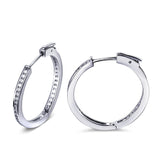 Hoop Earrings for women AAA Cubic Zirconia Fashoion Earrings  Free Allergy Lead Free vintage jewelry - onlinejewelleryshopaus