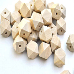 natrual Wooden Cube unfinished geometric Beads For Jewelry making 10mm 100pcs MT0212-10 - onlinejewelleryshopaus