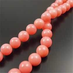 Wholesale Round Pink Coral Beads Natural Handmade Fashion Beads For Jewelry Making Bracelet Necklace Free Shipping 32202-031D - onlinejewelleryshopaus