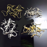 18MM 1000PCS Nickel/Silver/Gold/Bronze Plated Earring Clasps Hooks Jewelry Fittings/Accessories - onlinejewelleryshopaus