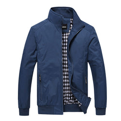 Men's Fashion Casual Loose Jacket Sportswear Bomber Jacket