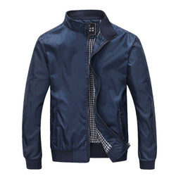 Mens Spring Summer Jackets Casual Thin Male Windbreakers