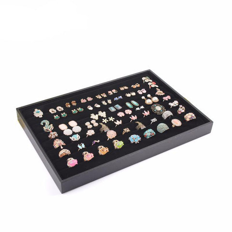Jewellery Display Box with velvet lining for Storage Case Organizer