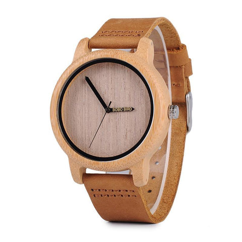 Bamboo Wooden Quality Watch from Japan