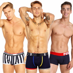 Big Brand PINK HEROES Cotton Underwear Men Boxer Shorts High Quality Underpants Classic Male Seamless Panties Man Lingerie