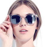Fashion Round Sunglasses Women Brand Designer 2016 Retro Vintage Ladies Sunglasses Female Sun Glasses For Women Oculos De Sol - onlinejewelleryshopaus