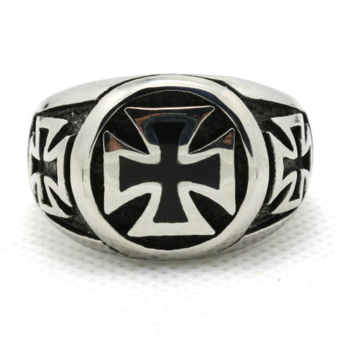 1pc Hot Design !! US Style Mens Boy Biker Ring 316L Stainless Steel Unique Cool Ring - onlinejewelleryshopaus