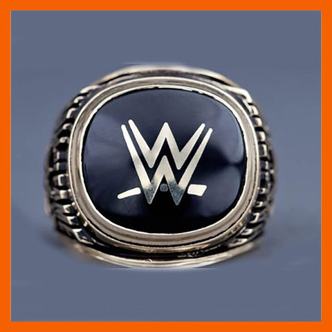 2015 wrestling replication Hall of fame championship ring Champion Statement Men Jewelry - onlinejewelleryshopaus