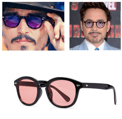 JinCool Super Star Sunglass Men 2016 Vintage Fashion Sunglasses Women Brand Designer Johnny Depp Rivet Sun Glasses Oculos de sol - onlinejewelleryshopaus