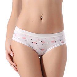 Candy Color Casual Women Cotton Underwear Panties