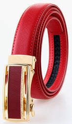 Large Size Woman Automatic Genuine Leather Belt 120 125 cm Cowskin Belts Elgant Belt Buckles Big Belts Woman Waistband Promotion - onlinejewelleryshopaus