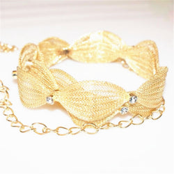 2016 Luxury brand design women gold metal mesh belt thin Waist belt Bride wedding strap chain Accessories bx1 - onlinejewelleryshopaus