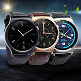 Original GW01 Bluetooth 4.0 Smart Watch IPS Round Screen Life Water Resistant Anti-lost Smartwatch Supporting Android iOS System - onlinejewelleryshopaus