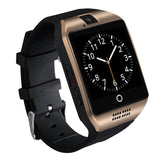 2016 New Bluetooth Q18 Smart Watch Waterproof Apro Smartwatch Support NFC SIM Card 1.3M Camera For Iphone Samsung Android Phone - onlinejewelleryshopaus