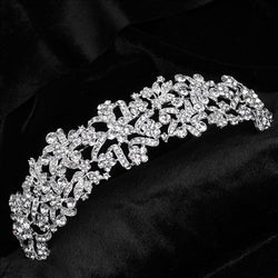 bride tiaras and crowns wedding head jewelry Princess Wedding Tiara Bride Hair Headpiece Crown  hair jewelry - onlinejewelleryshopaus