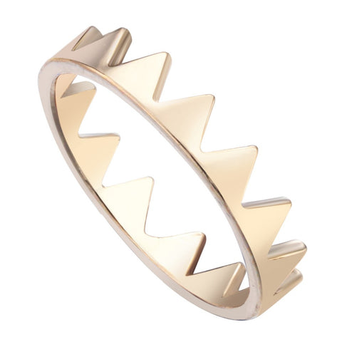 Triangle Spike Rings Bague Anel Triangle Spike Rings Women Men Rings Jewelry anel Bague Boho - onlinejewelleryshopaus