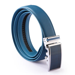 Plaid Designers Luxury Women Brand Women Genuine Leather Strap Waist Belt for Mens Wedding High Quality Ceinture Homme Blue - onlinejewelleryshopaus