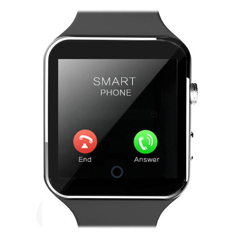 2016 New Bluetooth Smart Watch X6 Smartwatch sport watch For Apple iPhone Android Phone With Camera FM Support SIM Card - onlinejewelleryshopaus
