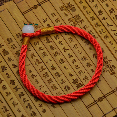 Fashion Men Bracelet Red Rope Bangle Lucky Bracelets for Women Cord String Line Classic Handmade Jewelry For Couple Lover Gift - onlinejewelleryshopaus