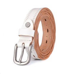 2016 New designer high quality genuine leather belts for women brand Vintage ladies pin buckle cow belt waist - onlinejewelleryshopaus