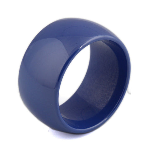 High Quality 12mm Polished Blue Ceramic Wedding Rings For Men Women - onlinejewelleryshopaus