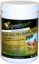 Greenpet Bird and Poultry Supplement