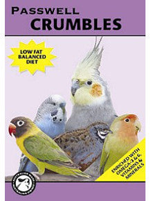 Paswell Small Bird Crumbles 1kg