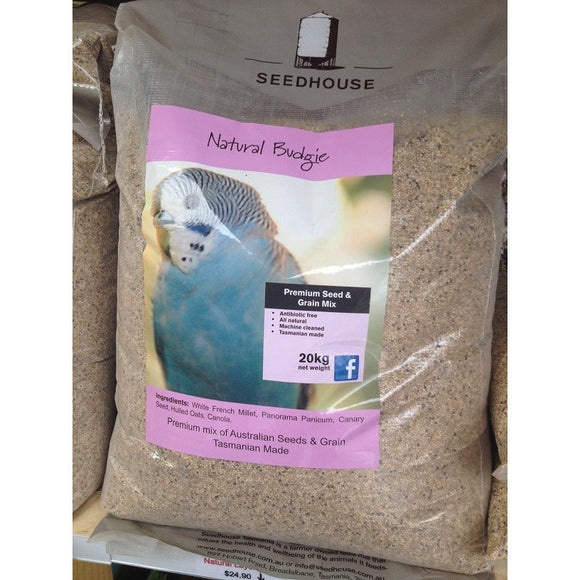Seed - Budgie Seed Mix by Seedhouse