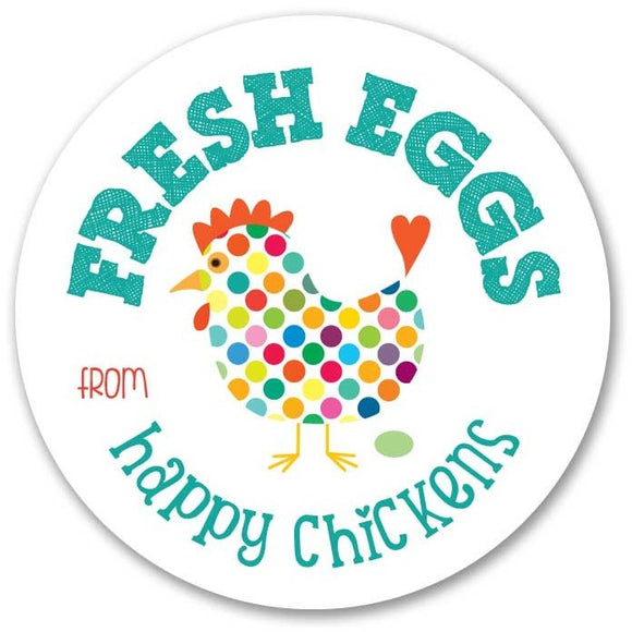 Coop Sign - Fresh Eggs from Happy Chickens 9
