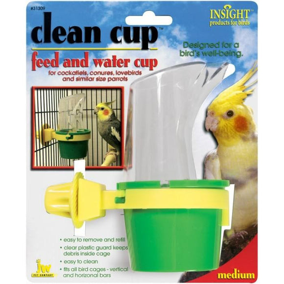 JW Insight Clean Cup Feed and Water - Medium