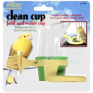 JW Insight Clean Cup Feed and Water - Small