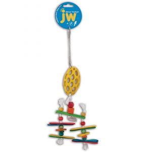JW Insight Bird Toy - Holee Football Chandelier
