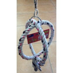 Rope Twin Ring Swing 180mm