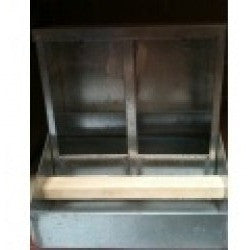 Aviary Seed Feeders - With Tilt Husk Tray: No 3 Hopper