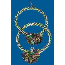 Rope Double Ring Swing 190mm diameter
