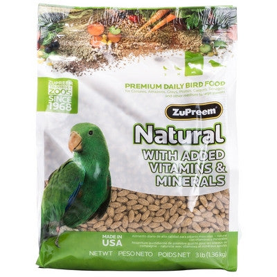 ZuPreem Natural Pellets Medium/Large