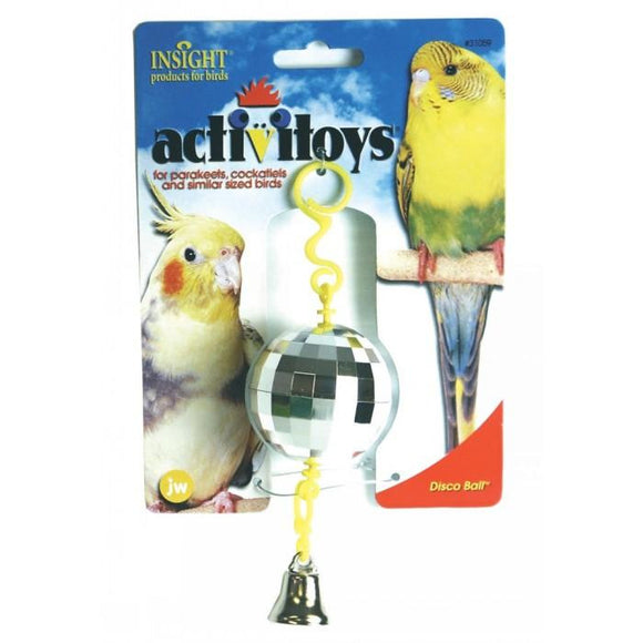 JW Insight BIRD TOY DISCO BALL