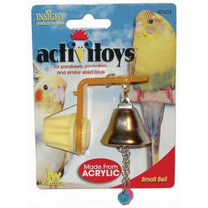 JW Insight BIRD TOY HANGER WITH SMALL BELL