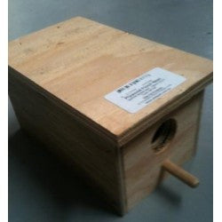 Plywood Finch Nesting Box