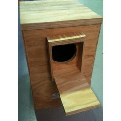 Plywood Parrot Nesting Box