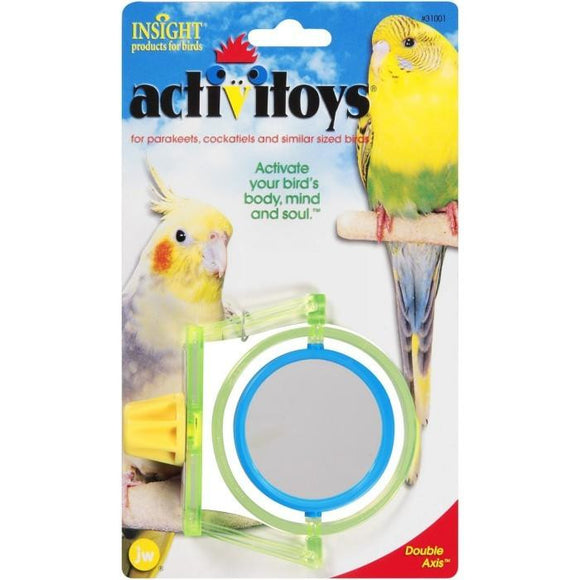 JW Insight Bird Toy Double Axis