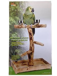 Natural Perch Tree - Medium to Large Birds