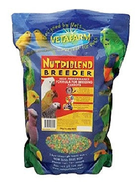 Vetafarm Nutriblend Breeder Small Pellets 10kg