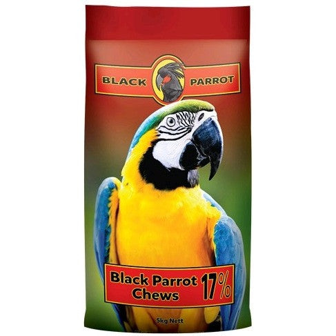 Black Parrot Chews 5kg