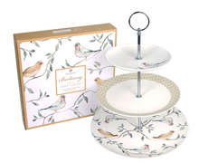 Birdsong Cake Stand Three Tier