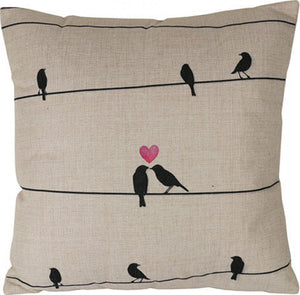 Lovebirds Cushion