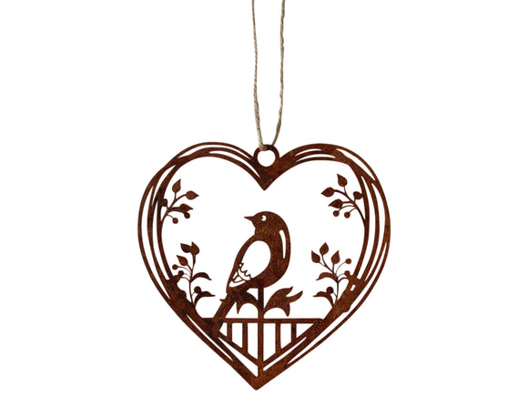 Metal Heart Decor
