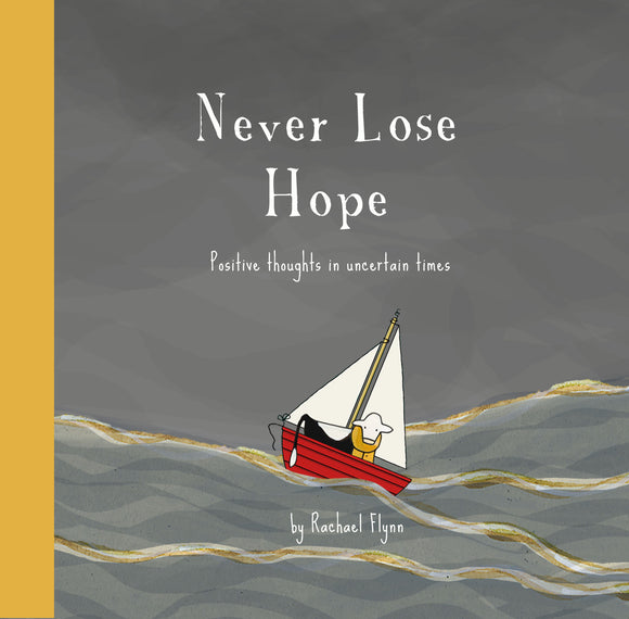 Red Tractor Designs Never Loose Hope Quote Book